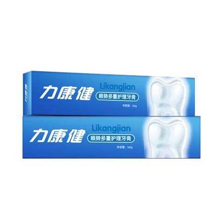 力康健顺势多重护理牙膏